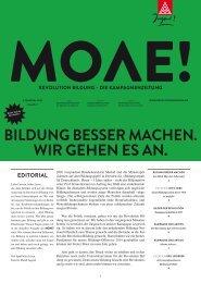 Revolution Bildung-Kampagnenzeitung MOVE
