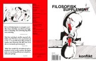 filosofisk supplement - Universitetet i Oslo
