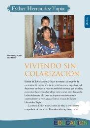 VIVIENDO SIN COLARIZACION - Global Campaign for Education
