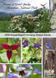 2010 Annual Report - Friends of the Smokies