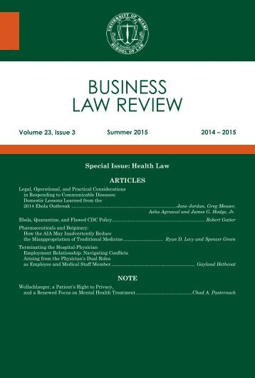 University-of-Miami-Business-Law-Review-Volume-23-Issue-Three-Summer-2015