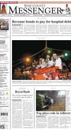 12-10-2011-Weekend - Wise County Messenger