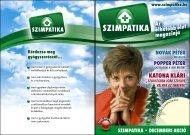 2008. december - Szimpatika