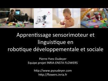 The challenges of developmental robotics - Institut des Systèmes ...