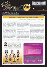 MED ORC Newsletter - NTUC