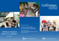 Download Partnership Programme Brochure (pdf) - St Columbans ...