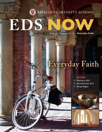 EDS NOW Everyday Faith - Episcopal Divinity School