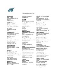 INDIVIDUAL MEMBER LIST - International Insurance Society