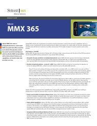 Sybase MMX 365