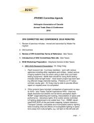Read - Helicopter Association of Canada