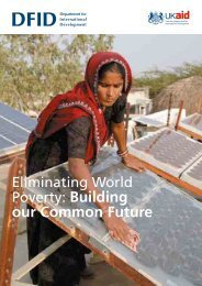 Eliminating World Poverty: Building our Common Future - infoDev
