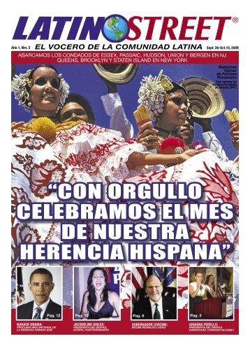 con orgullo celebramos el mes de nuestra ... - LatinoStreet.Net