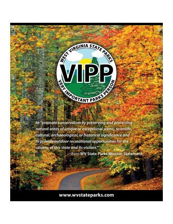 to view the VIPP brochure and registration form - West Virginia State ...