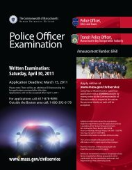 Police Officer Examination - Winthrop, MA