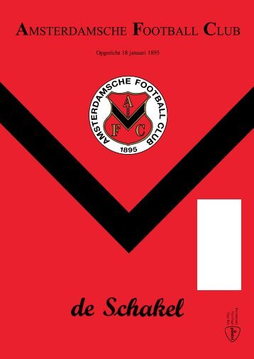15 februari 2012 90ste jaargang nummer 7 - AFC, Amsterdam