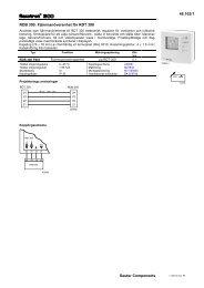 46.103/1 Sauter Components RDB 300: Fjärrmanöverenhet för RDT ...