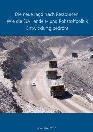 Die neue Jagd nach Ressourcen: Wie die EU-Handels- und ... - Oxfam
