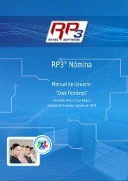 Días Festivos - RP3 Retail Software