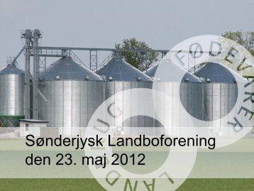 Sønderjysk Landboforening den 23. maj 2012