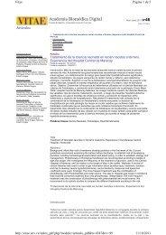Artículos Página 1 de 5 Vitae 11/10/2011 http://vitae.ucv.ve ...