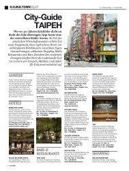 Citydguide TAIPEH