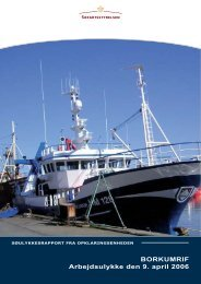 BORKUMRIFF - Søfartsstyrelsen