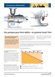 Des pompes pour forts débits – le système Smart Trim - Grundfos E ...