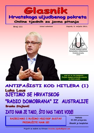 """Sjetimo se hrvatskog """"Radio Domobrana"""" iz Australije"""