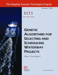 Genetic Algorithms for Selecting and Scheduling Waterway Projects ...