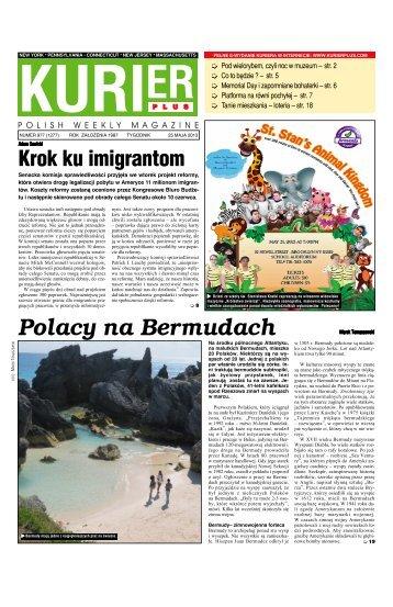Polacy na Bermudach - Kurier Plus