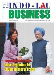India, Argentina to Double Bilateral Trade India ... - new media