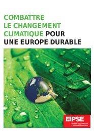 combattre le changement climatique pour une europe durable