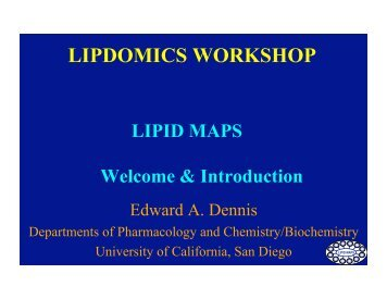 Lipidomics Magazines