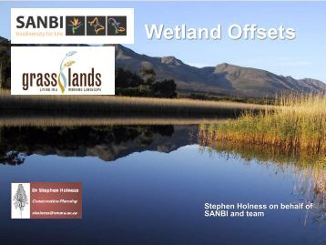 Wetland Offsets
