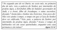 1 No segundo ano do rei Dario, no sexto mês, no ... - ipbg.org.br