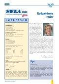 Utgåva 10 , Nr 1/2004 - SWEA International - Page 3