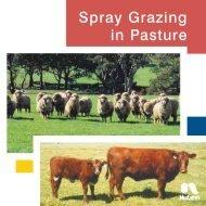 Spray Grazing in Pasture - Pest Genie