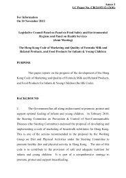 LC Paper No. CB(2)192/12-13(01) Annex I