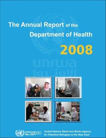 the health programme - Unrwa