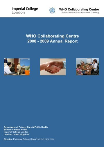 2009 Annual Report - Imperial College Faculty of Medicine ...