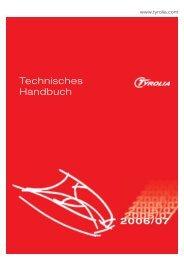 Technisches Handbuch - Tyrolia