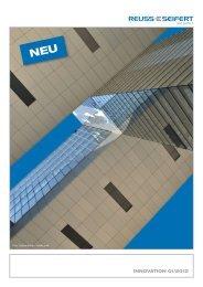 INNOVATION 01/2012 - Reuss-Seifert GmbH