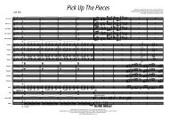 Pick Up The Pieces Sample Score - Lush Life Music