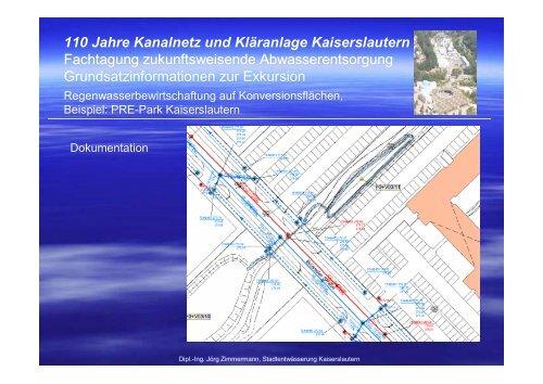 110 Jahre Kanalnetz und Kläranlage Kaiserslautern
