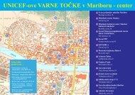Zemljevid Varnih točk - Maribor, center