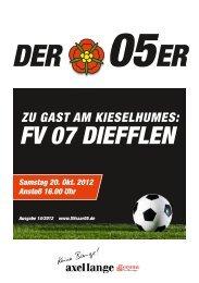 05er FV Diefflen - SV Saar 05 Fußball e.V.