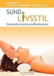 Danmarks største sundhedsmesse - Sund Livsstil