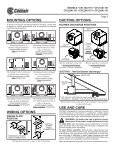 ceiling / wall mount ventilators read and save ... - American Coolair - Page 3