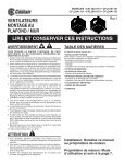 ceiling / wall mount ventilators read and save ... - American Coolair - Page 5