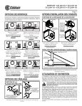ceiling / wall mount ventilators read and save ... - American Coolair - Page 7